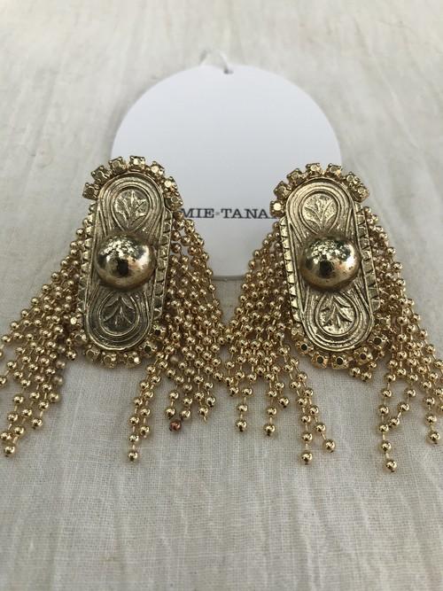 FUMIE=TANAKA    side ball earring