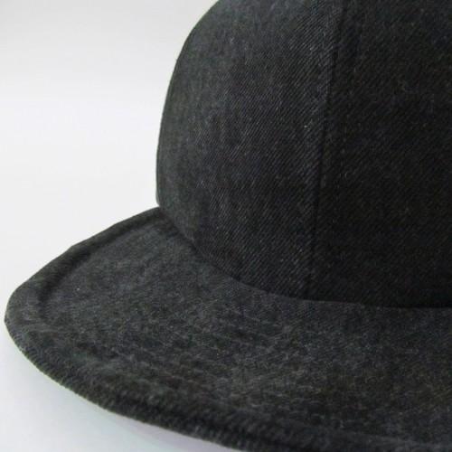 BLACK DENIM MODIFIED CAP