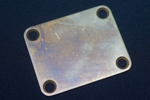 Neck Plate  Brass