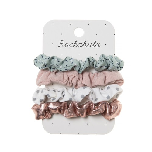 H1326G Ditsy Garden Mini Scrunchies