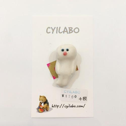 【CYILABO】ブローチ