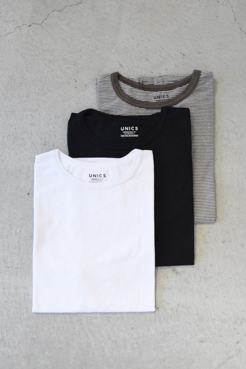 【UNICS】S/S TEE (3 PACK) PATTERN:A-F