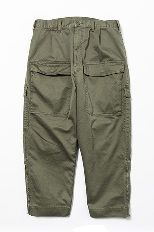 WL High density One tack Cargo Pant  (WHITE LINE)
