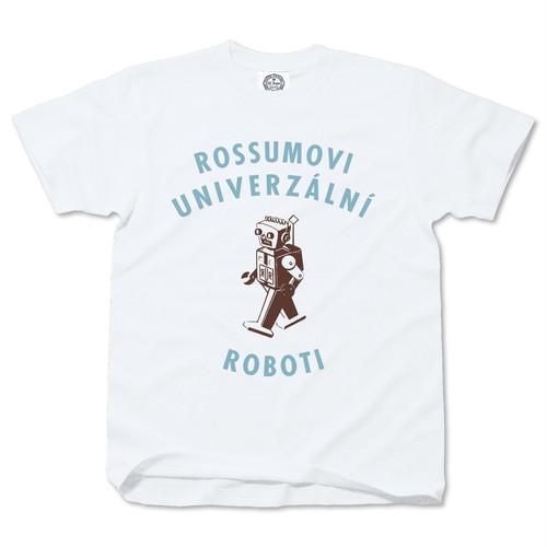 ROSSUMOVI UNIVERZALNI ROBOTI white A (blue)