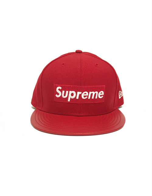 Supreme Newera Cap Red