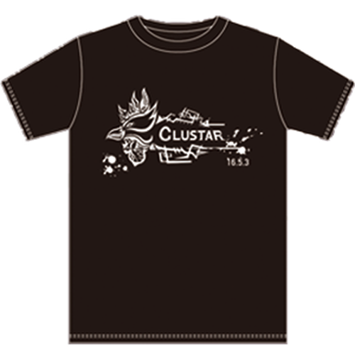 CLUSTAR.オリジナルT-シャツ