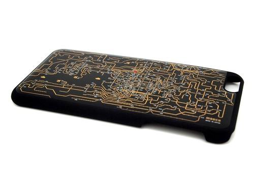 関西回路線図 iPhone6/6s  Plus ケース 黒【LEDは光りません】【東京回路線図ピンズをプレゼント】