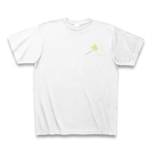 キンポウゲ フラワーイラストTシャツ ワンポイント