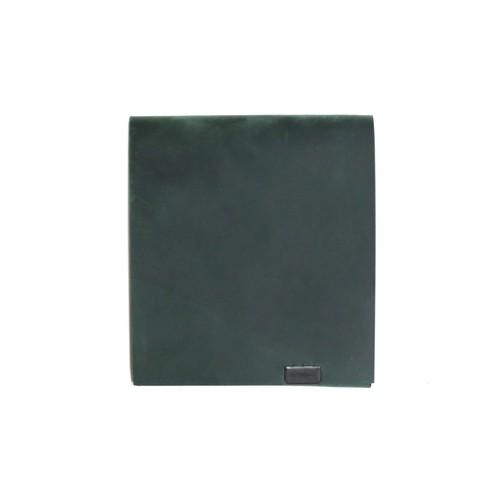 オイルヌバック -ショートウォレット2.0- グリーン