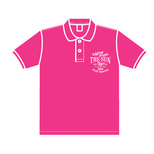 THE SUN オリジナルポロシャツ【サイズWM】女性用