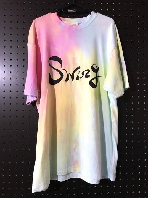 (XL)Swing Tシャツ【タイダイ染め】