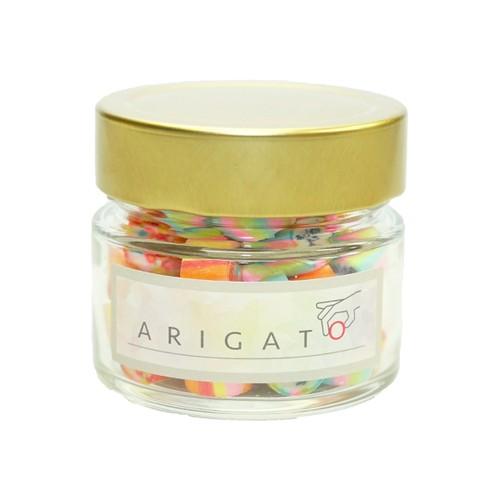 ギフトキャンディ ARIGATO 瓶