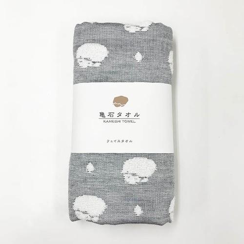 亀石フェイスタオル 今治タオルブランド認定品 ジャガード織り