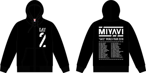 """Tour Hoodie """"DAY2"""""""