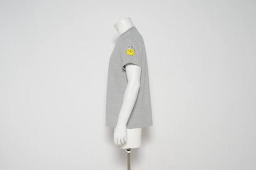 ピーちゃん.comオリジナルTシャツ(グレー)