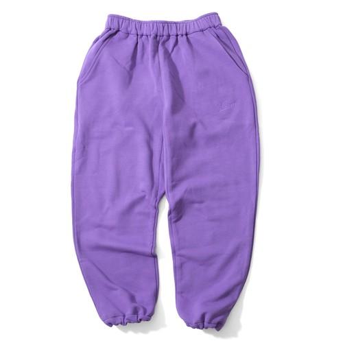 SWEAT PANTS 【PURPLE】