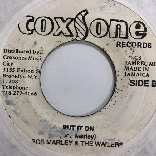 Bob Marley & The Wailers( ボブマーリーアンドザウェイラーズ) - Put It On【7'】