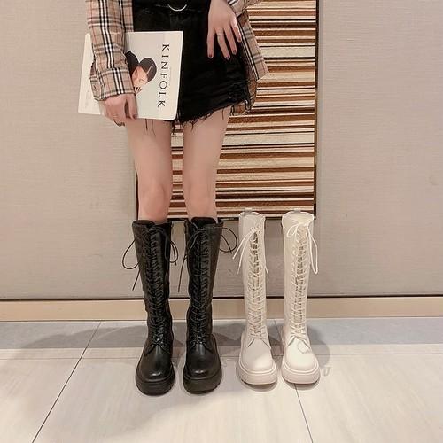 lace up boots 2color