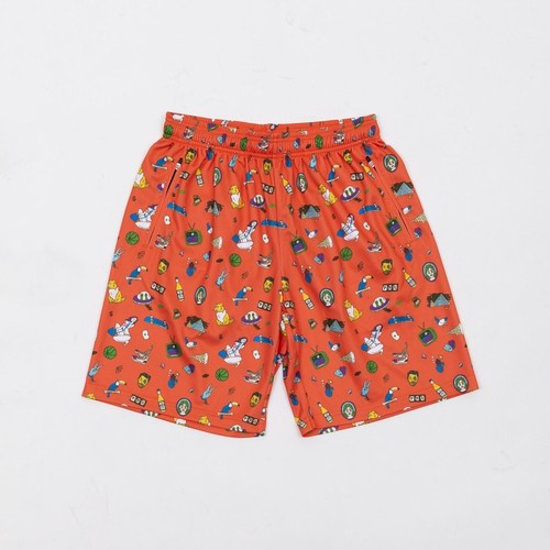 CRATE×Toyameg MeshPants Orange