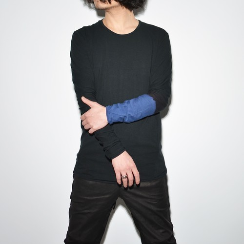 Spiral L/S 〈Lost Lefty・Black × Blue〉