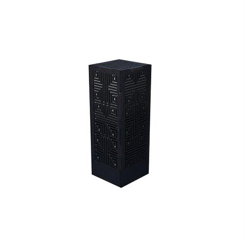 ミニ行灯 メイズ - 置き型照明 Mサイズ ブラック