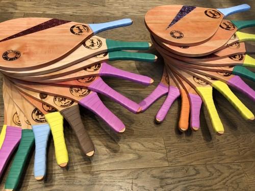 【子供用】ルイスラケット 「クリアンサフィーノ」(LUIZ NEGÃO RAQUETES for Kids)カラー:紫