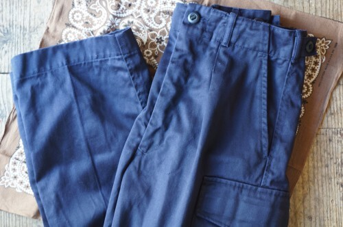 90's Royal Navy cargo Trousers