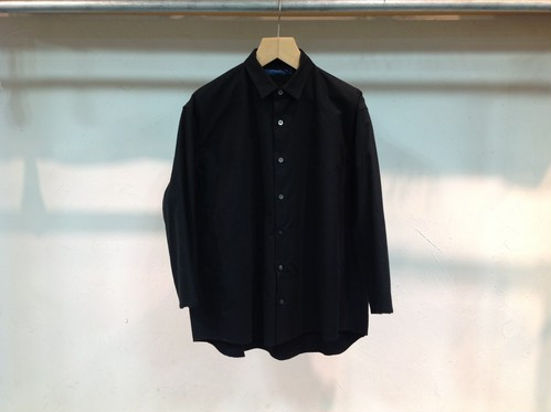 "semoh ""wide shirt black"""