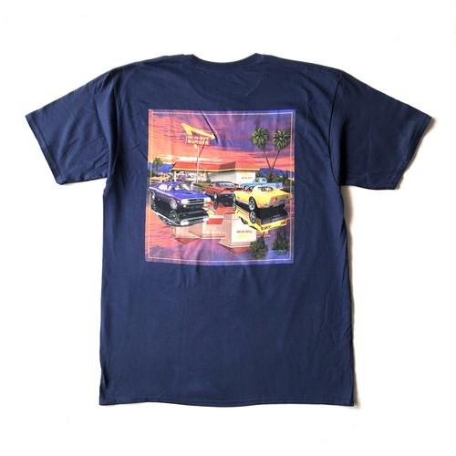 IN-N-OUT BURGER 2016 CLASSIC & FRESH TEE - navy