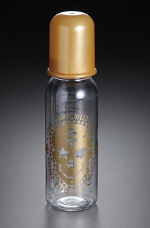 ロックスターベイビー 哺乳瓶 ドクロゴールド Lサイズ
