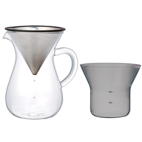 【KINTO】コーヒーカラフェセット 600ml