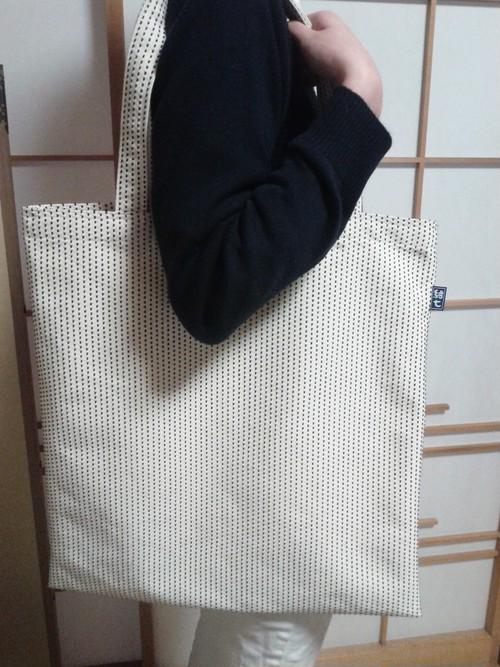 一本刺子のおっきいバッグ 肩掛け ver.