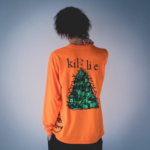 『エコロジーを壊せ』【長袖Tシャツ】 / Destroy The Ecology Long Sleeve Shirt
