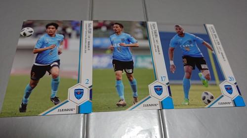横浜FC Jカード2018 レギュラーカード3種チームセット