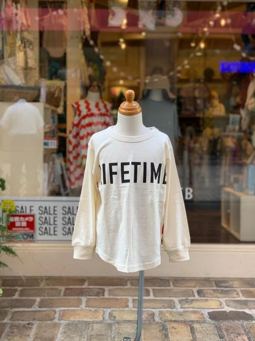 KIDS:OFFICIAL TEAM【オフィシャルチーム】SIMPLE LOGO T-SHIRT(オフホワイト/90〜140cm)ロゴTシャツ