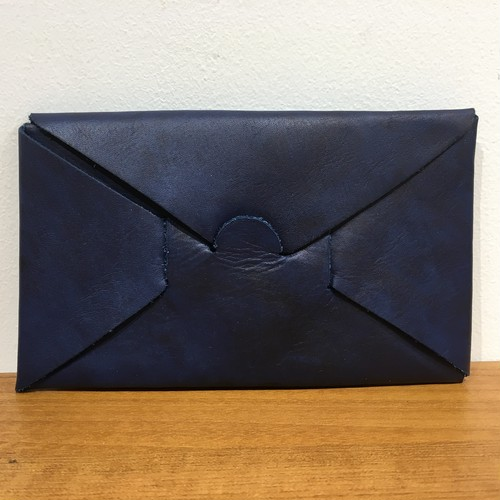 "i ro se/SEAMLESS LONG WALLET "" INDIGO """