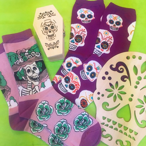 Big Muertos Skull-Sock Smith(ソックスミス)