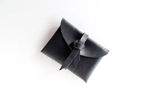 ori card case / 折りカードケース #black / 黒色