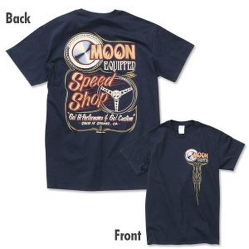 ワイルドマン石井デザインの Speed Shop Tシャツ サイズXL