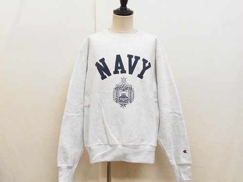 Champion REVERSE WEAVE/USNA OFFICIAL PRINT