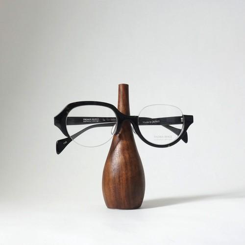 家具職人が作ったウォールナットの眼鏡スタンド [ Short ]