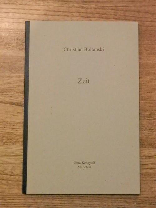zeit / クリスチャン・ボルタンスキー (Christian Boltanski)