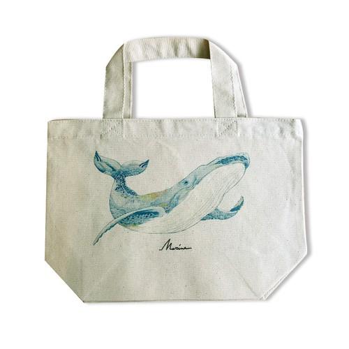 【トートバッグ】クジラ (Sサイズ)