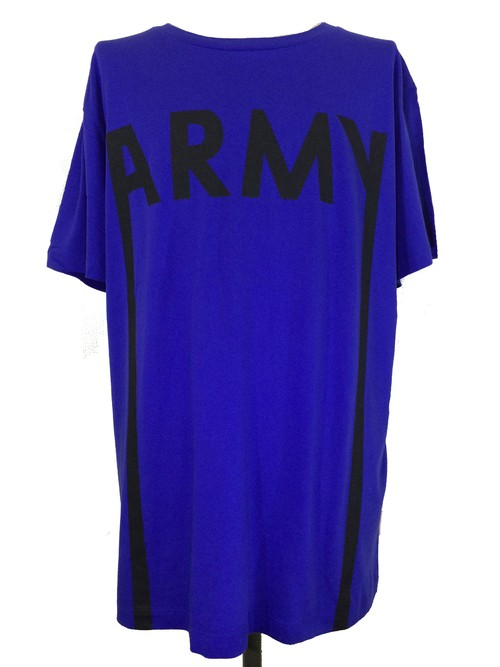 ARMY SHORT SLEEVES -MID BLUE-