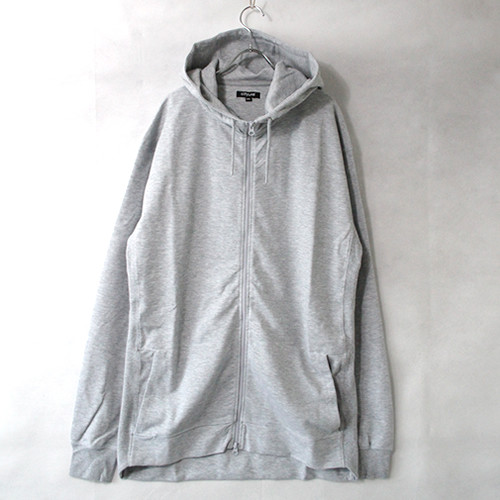 9.1oz Performance Fleece FULL-ZIP Hoodie - H.Grey -