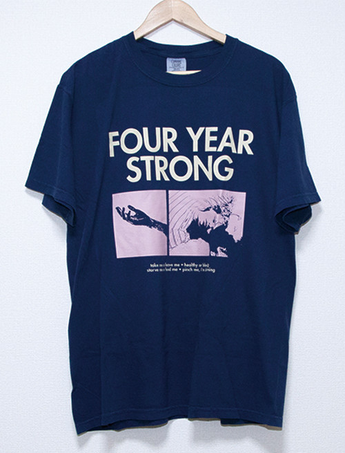【FOUR YEAR STRONG】Brain Pain T-Shirts (Navy)
