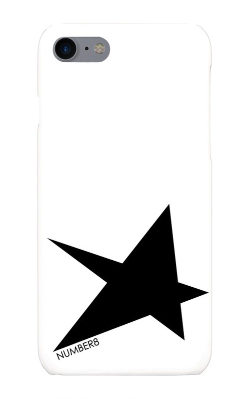 Number8(ナンバーエイト) BIG STAR(星柄)iPhoneケース for iPhone8/7
