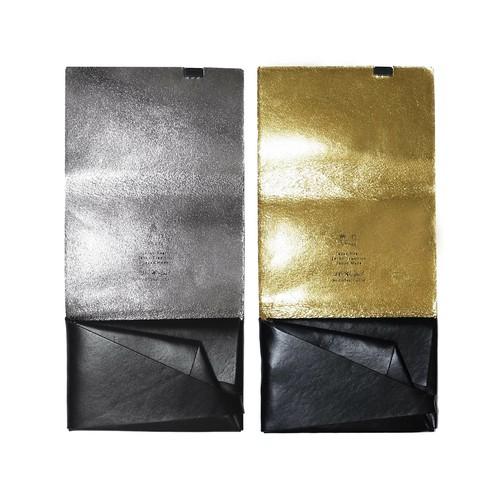 ボレロ -ショートウォレット1.0- ブラック×シルバー&ブラック×ゴールド
