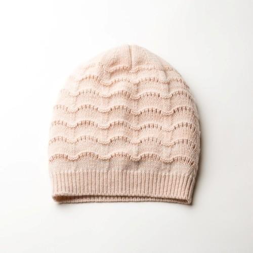 SCALLOP CAP (Pink)  DBA0036