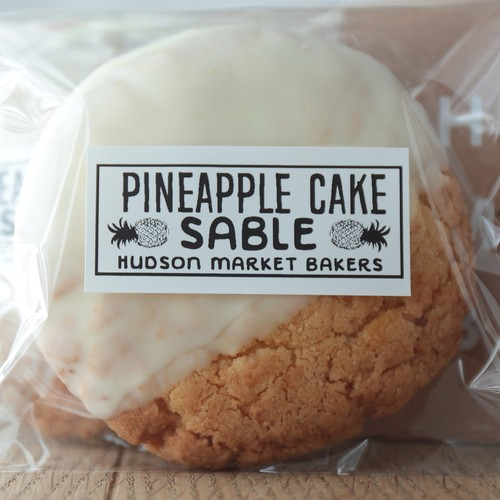 PINEAPPLE CAKE SABLE 4枚